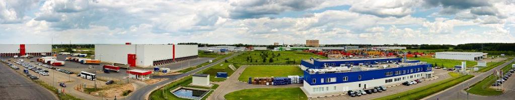 Панорама лучшего промышленного парка в Московской области +7 495 646 17 52